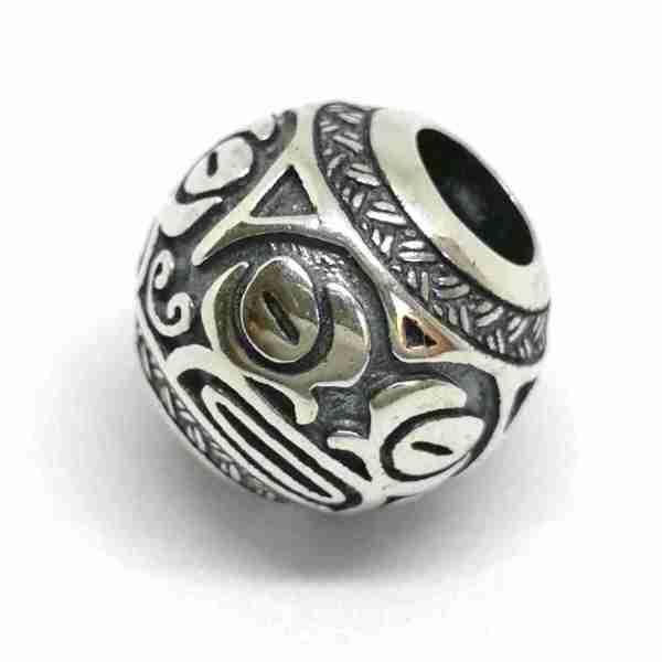 Tiki-kapakapa Maori bead - 7SEASJewelry