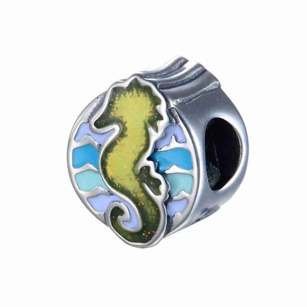 Green Seahorse Bead - 7SEASJewelry