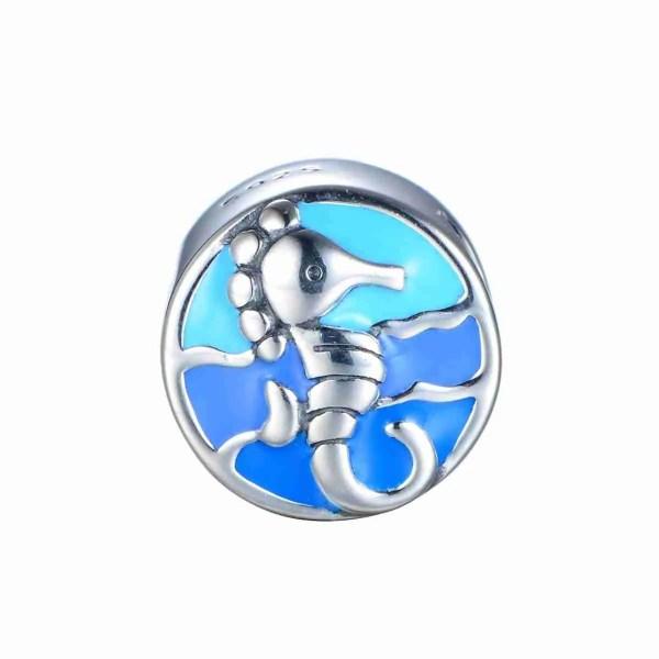 Seahorse in Waves Bead - 7SEASJewelry