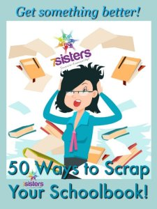 50 Ways to Scrap Your Schoolbook 7SistersHomeschool.com