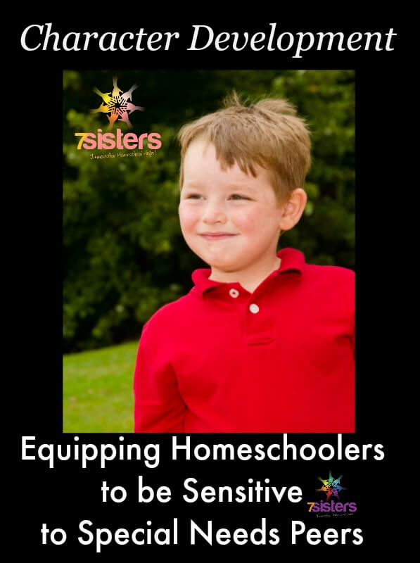 Equipping Homeschoolers to be Sensitive to Special Needs
