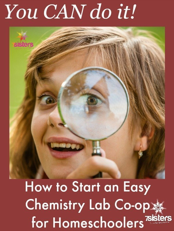 How to Start an Easy Chemistry Lab Co-op for Homeschoolers