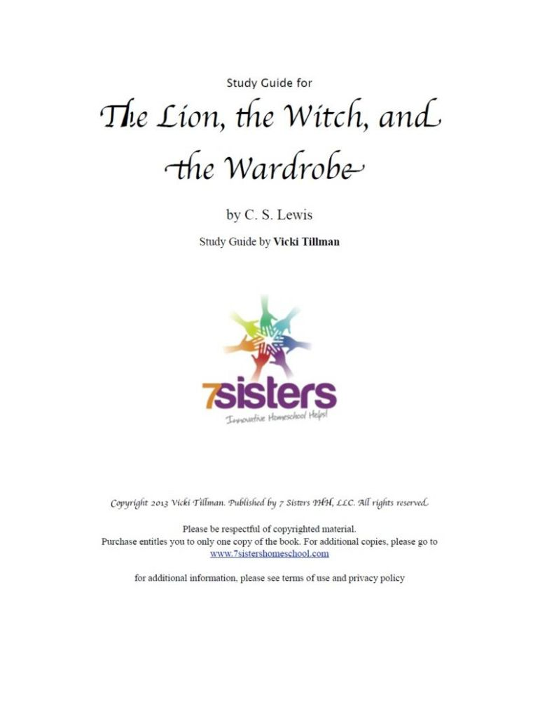 Excerpt for The Lion, The Witch, and the Wardrobe Study Guide