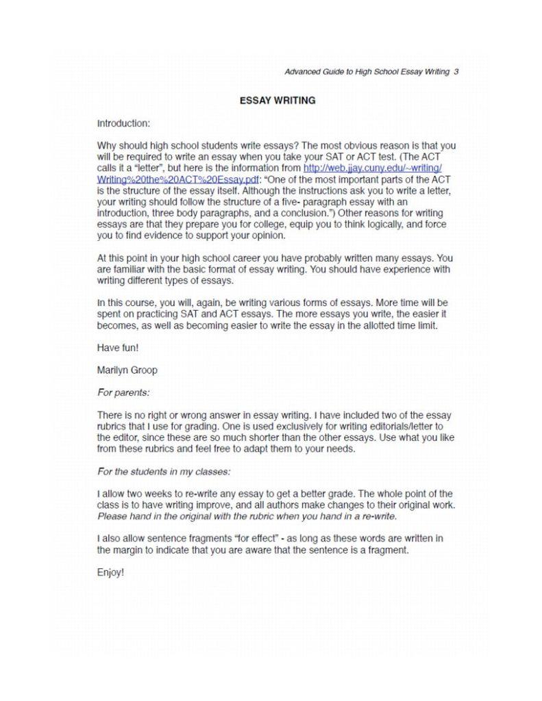 Adv Essay 1