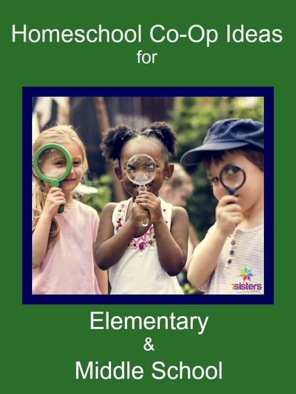 Homeschool Co-Op Ideas for Elementary & Middle School