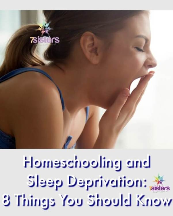 Homeschooling and Sleep Deprivation- 8 Things You Should Know