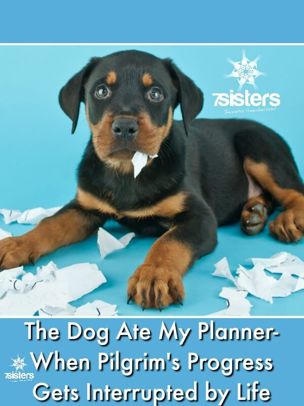 The Dog Ate My Planner - When Pilgrim's Progress Gets Interrupted by Life