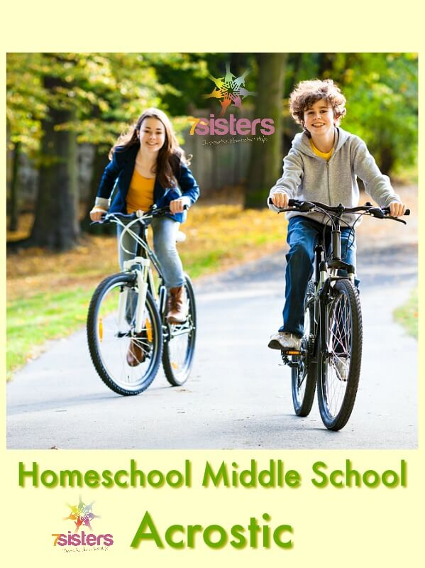 Homeschool Middle School Acrostic