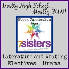 7SistersHomeschool.com Homeschool EBook Curriculum that's Mostly High School - Mostly FUN!
