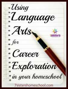 Using Language Arts for Career Exploration in homeschool