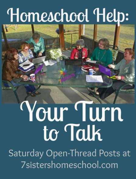 Homeschool Help: Your Turn to Talk