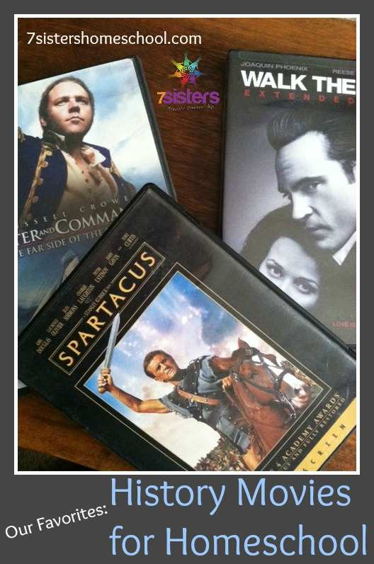 history movies for homeschool