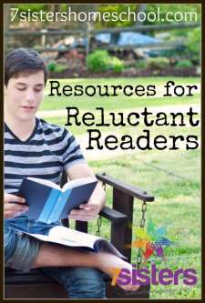 Resources for Reluctant Readers - Favorite Posts for Helping Kids Who Aren't Natural Bookworms