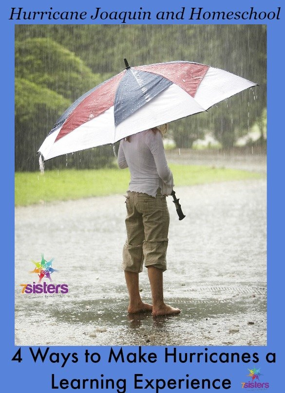 Hurricane Joaquin and Homeschool- 4 Ways to Make it a Learning Experience