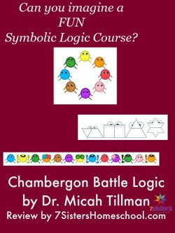 Chambergon Battle Logic Course by Dr. Micah Tillman Review by 7SistersHomeschool.com