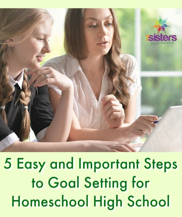 Goal Setting for Homeschool High School