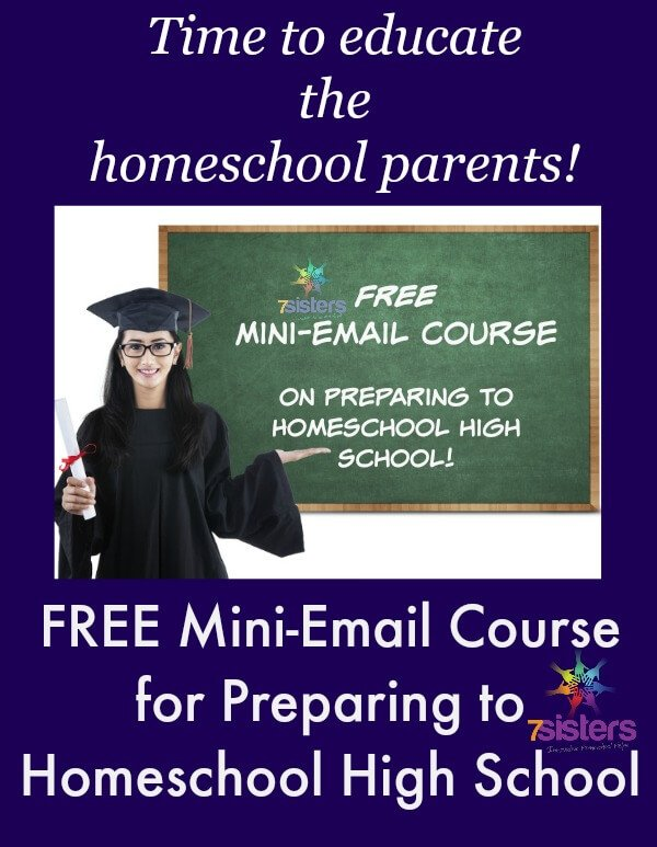 FREE Mini-Email Course for Homeschool High School