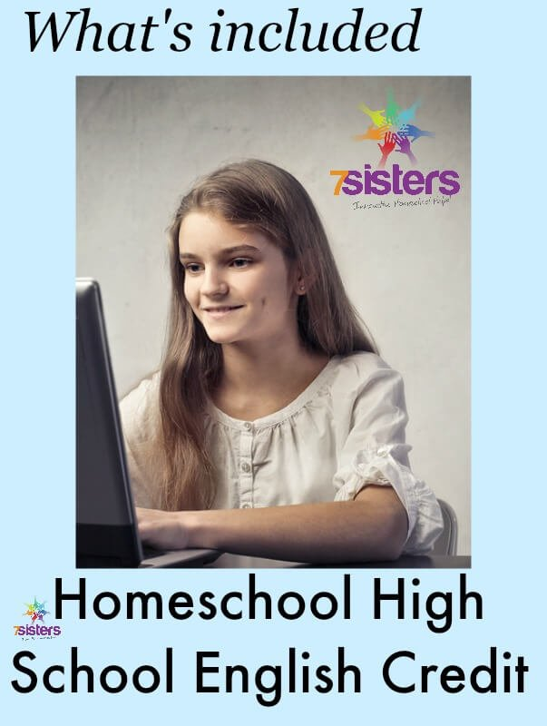 Homeschool High School Language Arts Credit: What's Included?