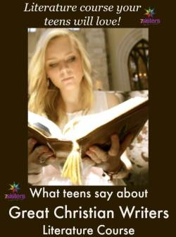 What Homeschool Teens Say About Great Christian Writers from 7SistersHomeschool.com