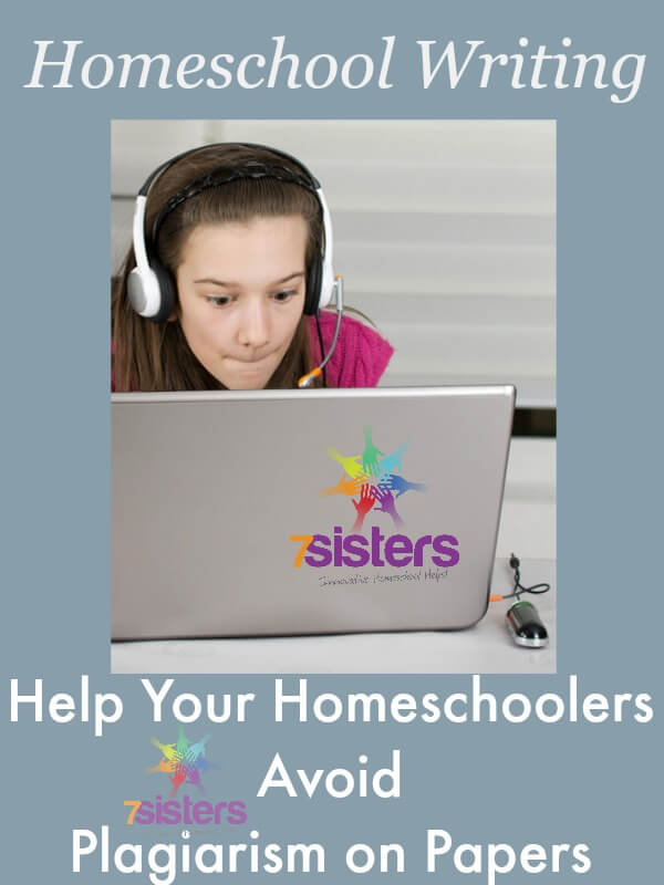 Help Your Homeschoolers Avoid Plagiarism on Papers