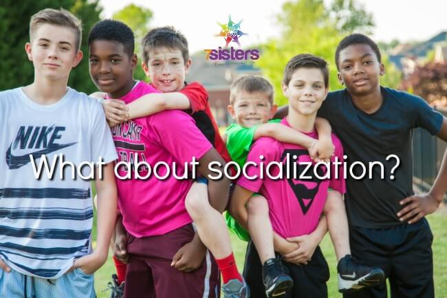 What about socialization? 7SistersHomeschool.com