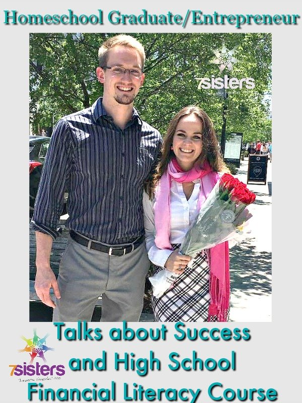 Success and Financial Literacy Homeschool Graduate and Entrepreneur