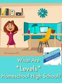 HSHSP Ep 116: What Are Levels in Homeschool High School?