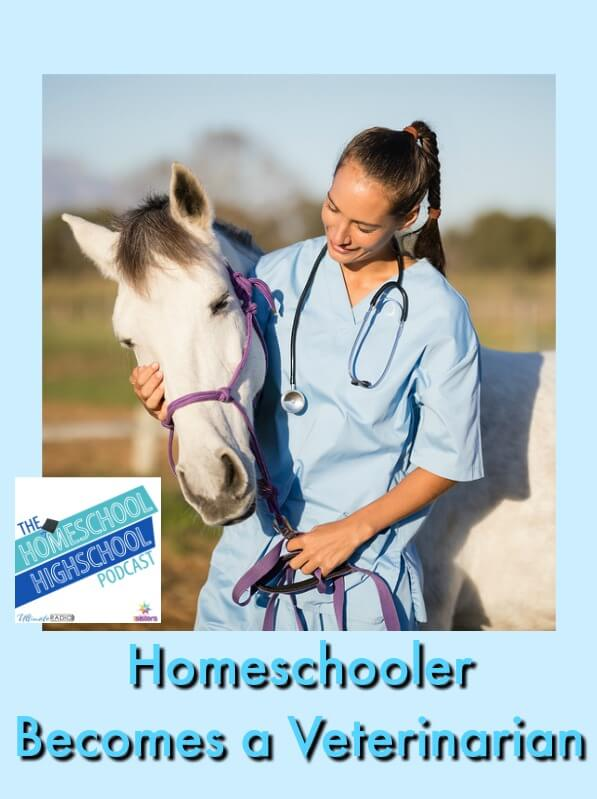 Podcast HSHSP Ep 122: Homeschooler Becomes a Veterinarian, Interview with Dr. Sarah Varnell