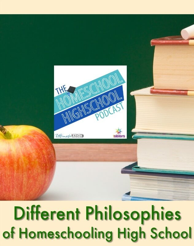 HSHSP Ep 163: Different Philosophies of Homeschooling High School. Discussion of the different homeschooling methods for high school. #HomeschoolHighSchoolPodcast #HomeschoolHighschool