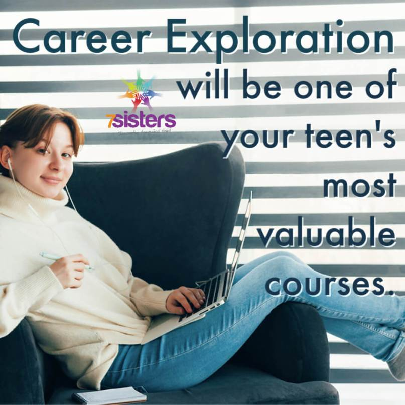 Career Exploration will be one of your teen's most valuable courses. 7SistersHomeschool.com's popular Career Exploration also has a syllabus for full or partial credit.