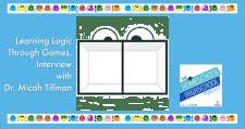 Learning Logic Through Games, Interview with Dr. Micah Tillman #HomeschoolHighSchoolPodcast #learninglogicthroughgames #DrMicahTillman #HomeschoolHighSchool #LogicForHighSchool