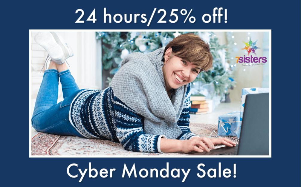 Cyber Monday Sale 7SistersHomeschool