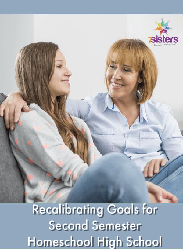 Recalibrating Goals for Second Semester Homeschool High School
