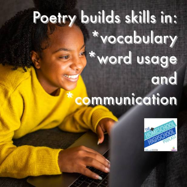 Poetry builds skills in: *vocabulary *word usage and *communication