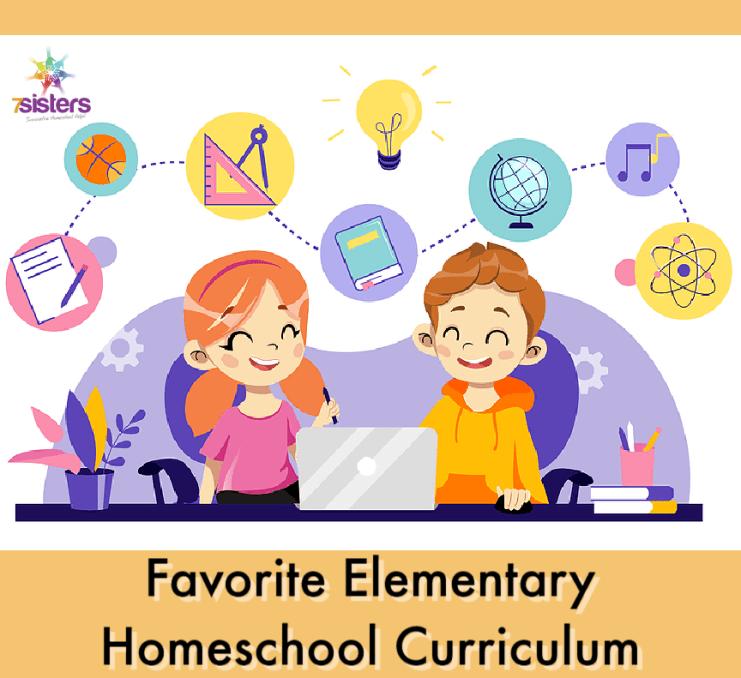 Favorite Elementary Homeschool Curriculum 7SistersHomeschool