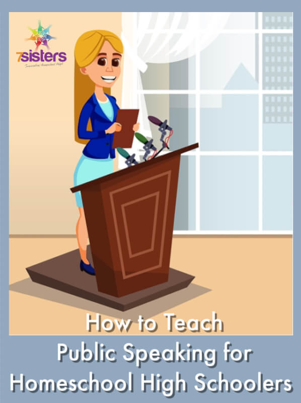 How to Teach Public Speaking for Homeschool High Schoolers