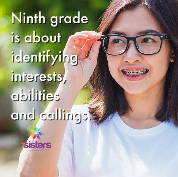 Ninth grade for non-college-bound homeschool high schoolers is about identifying interests, abilities and callings. 7SistersHomeschool.com