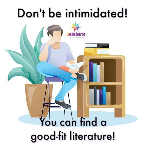 Don't be intimidated! You can find a good-fit literature for your homeschool high schooler.