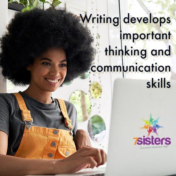 Writing develops important thinking and communication skills