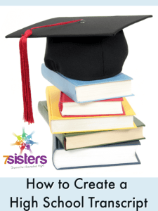 How to Create a High School Transcript. Homeschool high schoolers create meaningful transcripts with this editable PDF transcript, course checklist and detailed guide.