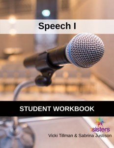 Speech I Student Workbook 7SistersHomeschool