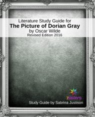 The Picture of Dorian Gray Literature Study Guide