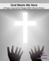 God Meets Me Here: Prayer Journal for People with Chronic Illness