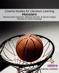 Cinema Study Guide Hoosiers