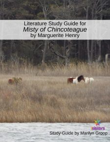 Misty of Chincoteague Literature Study Guide 7SistersHomeschool
