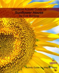 Elementary Literature Activity Guide for Sunflower House