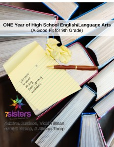 One Year of High School English Language Arts a good fit for 9th grade from 7Sisters