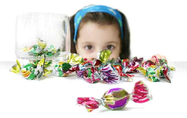 نتيجة بحث الصور عن الأطفال والحلوى