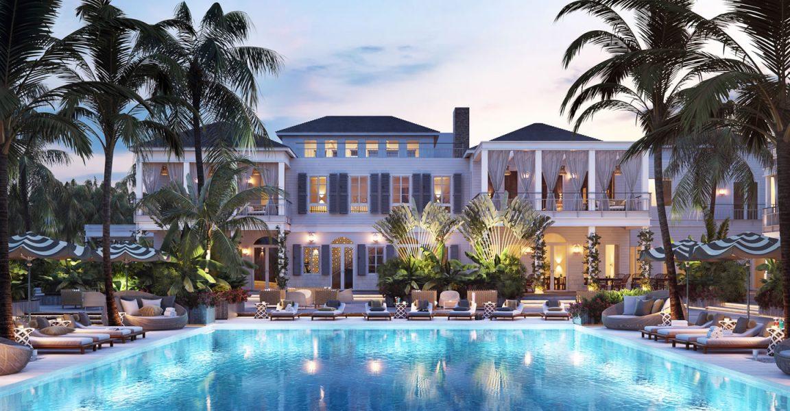 Beach Interior Resort Caribbean Villa