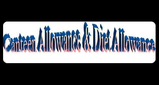 Canteen Diet Allowance